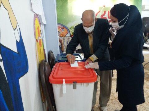 انتخابات در مراکز بهزیستی خوزستان