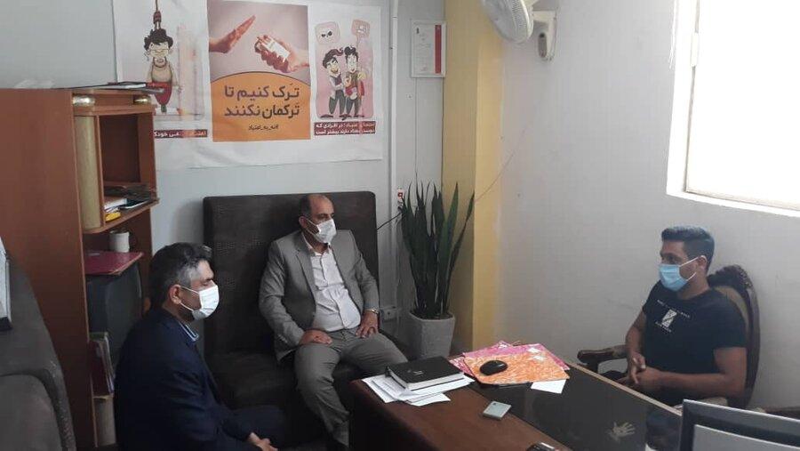 بازدید از مراکز اورژانس اجتماعی (۱۲۳) و صدای  مشاور (۱۴۸۰)