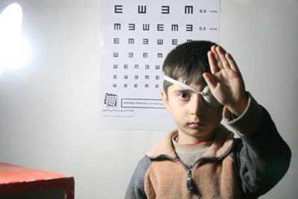 اجرای برنامه پیشگیری از تنبلی چشم کودکان درخراسان شمالی