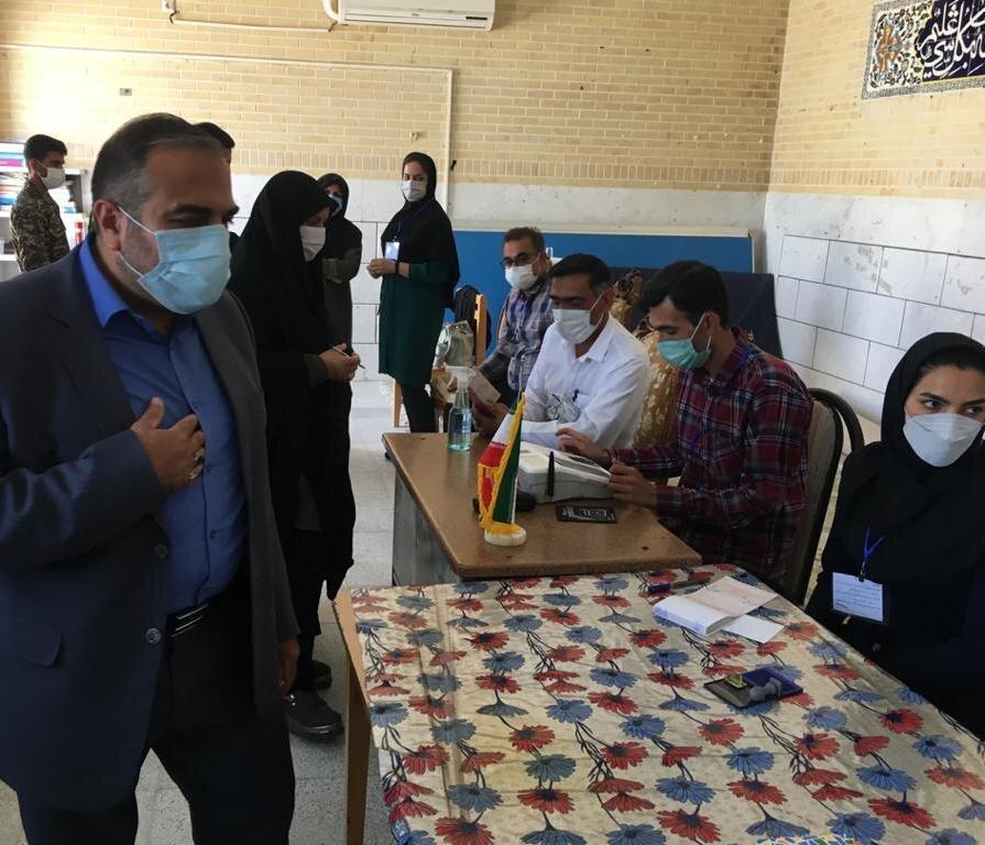 انتخابات | حضور مدیرکل بهزیستی فارس به عنوان بازرس وزارت ویژه کشور