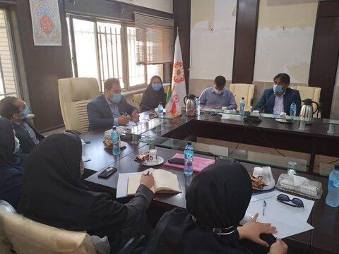 اسلامشهر| جلسه هم اندیشی مسئولین مراکز مثبت زندگی