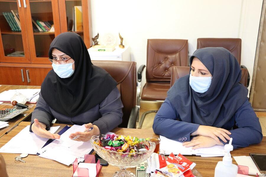 برگزاری نشست تخصصی و آسیب شناسی حول محور امور بیمه مددجویان