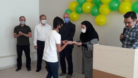 گزارش تصویری | شاهرود | جشن میلاد امام هشتم در مراکز پسران