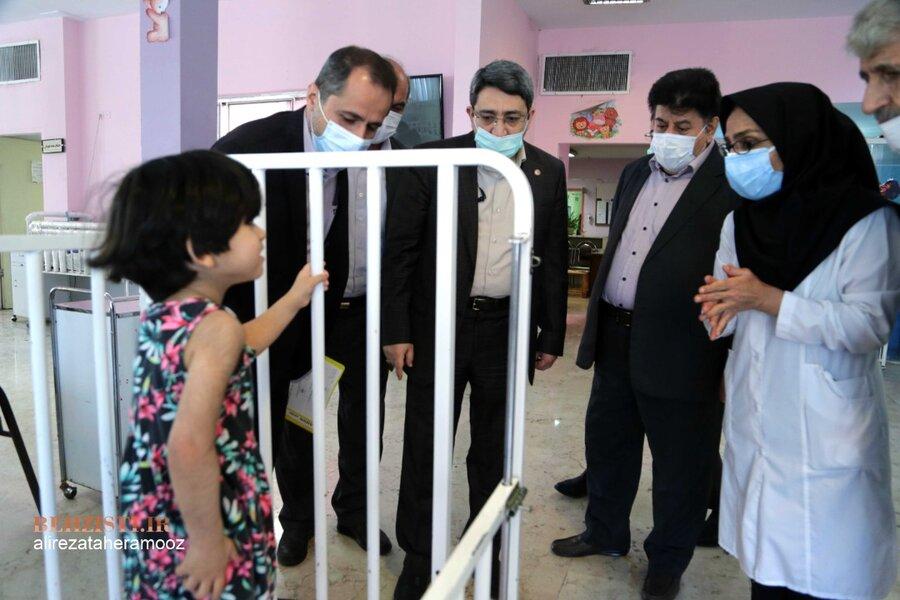بازدید رئیس سازمان بهزیستی کشور از موسسه خیریه و مرکز جامع توانبخشی عمل