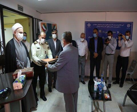 آیین افتتاحیه برنامه ها و فعالیتهای بهزیستی استان کردستان بمناسبت هفته مبارزه با مواد مخدر در مرکز جامع درمانی و بازتوانی امید کردستان