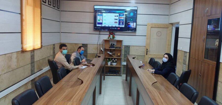 روابط عمومی  راه اندازی سایت جدید بهزیستی فارس