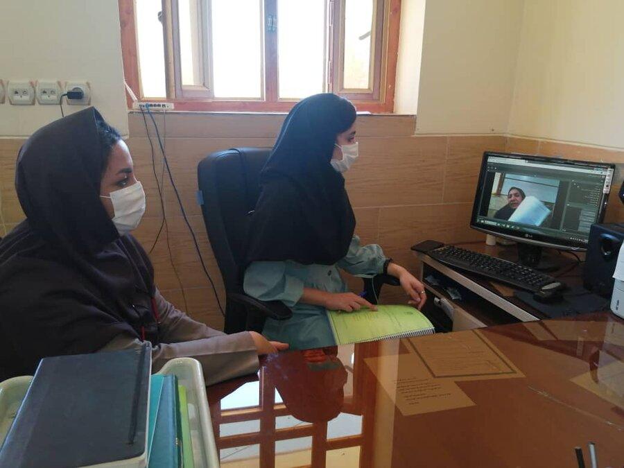 سپیدان| وبینار آموزشی کارکنان