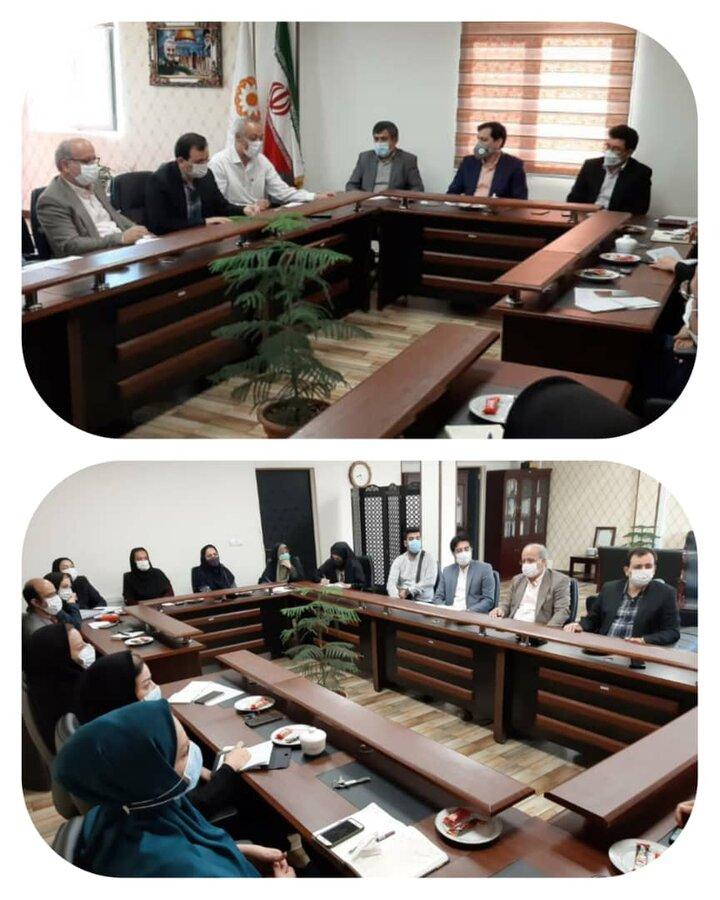 جلسه هم اندشی مدیرکل بهزیستی استان با مسئولین مراکز مثبت زندگی برگزار شد