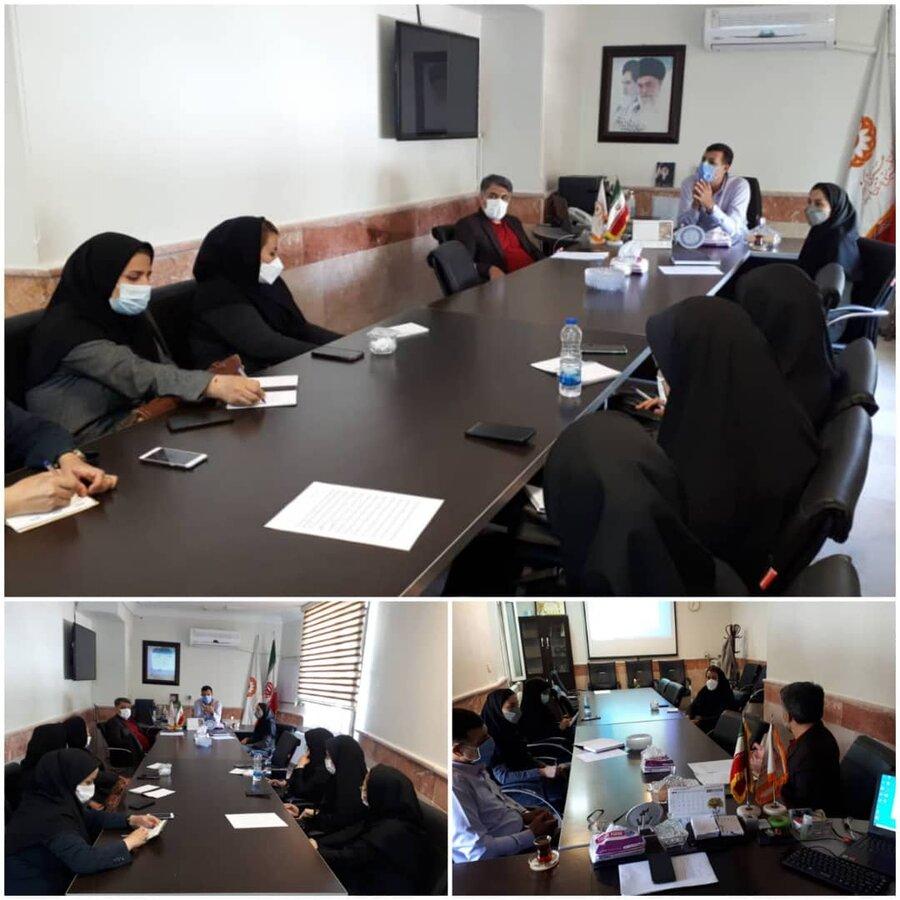 نظرآباد | برگزاری جلسه توجیهی اشتغال جامعه هدف بهزیستی شهرستان نظرآباد