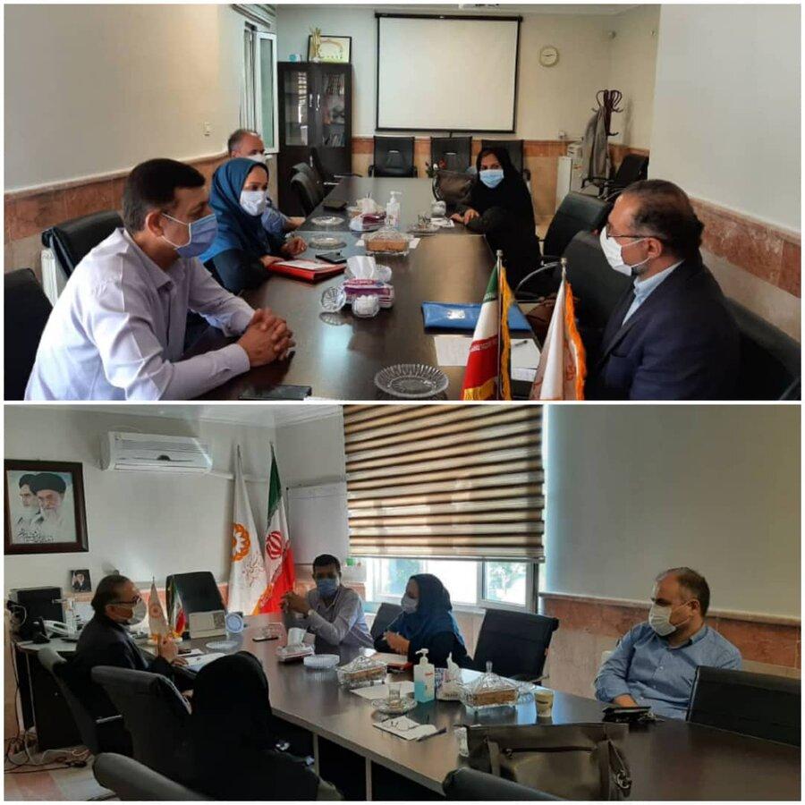 نظرآباد | اولین کمیته فرهنگی پیشگیری از اعتیاد به دبیری بهزیستی نظرآباد برگزار شد