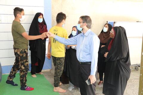 گزارش تصویری| سفر مدیرکل امور کودکان و نوجوانان سازمان بهزیستی کشور به شهرستان بروجن و فارسان