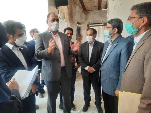 گزارش تصویری | بازدید رییس سازمان بهزیستی کشور از پروژه مسکن مددجویان بهزیستی خراسان رضوی در سبزوار