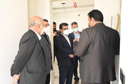 بازدید رئیس سازمان بهزیستی کشور از اولین زائرسرای افراد دارای معلولیت در مشهد