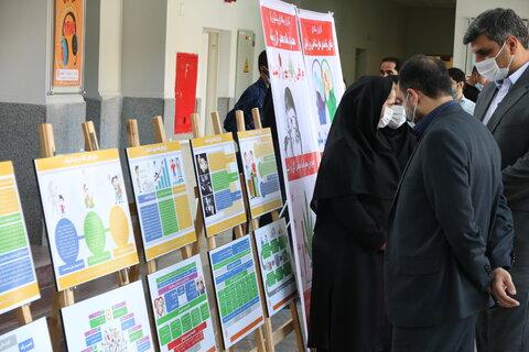 گزارش تصویری   برپایی نمایشگاه پیشگیری از اعتیاد