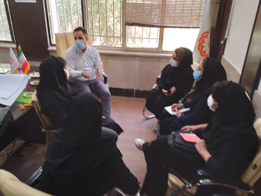اسلامشهر| برگزاری جلسه آموزشی طرح تحکیم بنیان خانواده