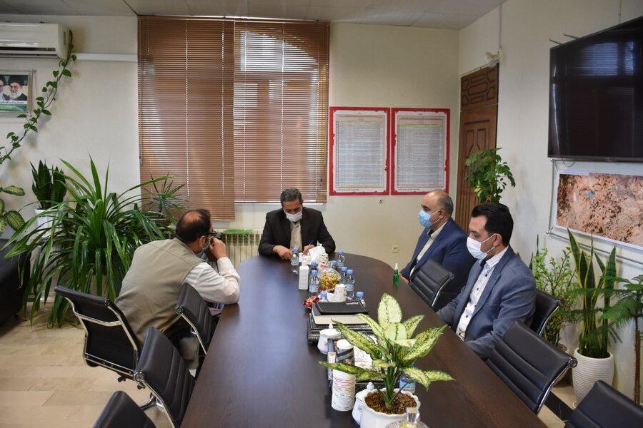 رسیدگی به درخواست جامعه هدف بهزیستی در فرمانداری شهرستان