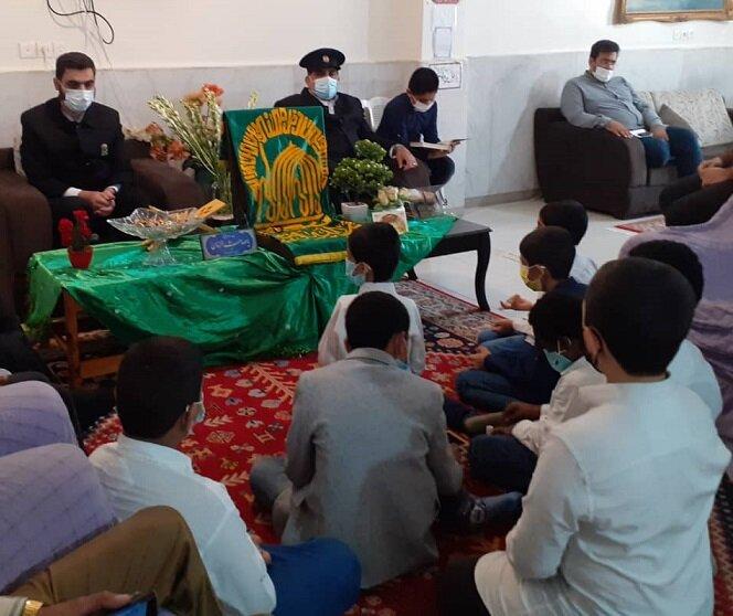 بندرعباس | کودکان ایتام میزبان خادمان حرم مطهر رضوی