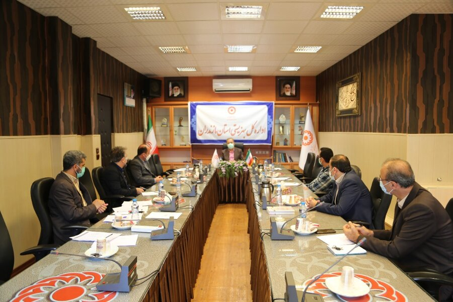کارگروه عملیاتی مراکز مثبت زندگی بهزیستی مازندران برگزار شد