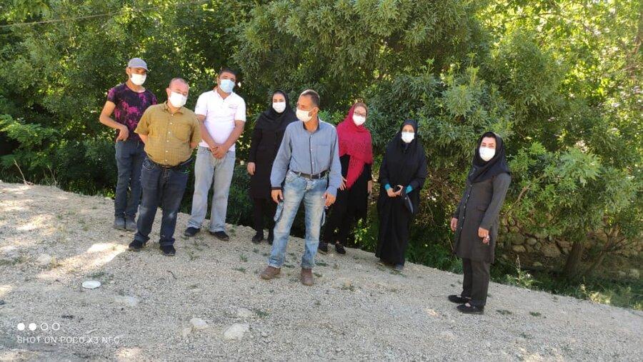 سپیدان   گزارش تصویری از برگزاری پیاده روی