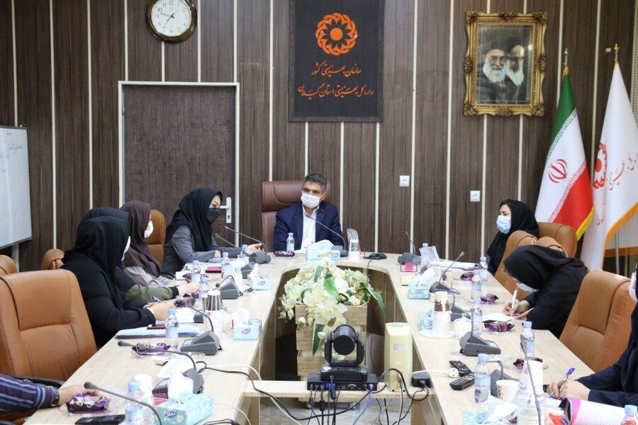 برگزاری اولين جلسه باشگاه علمي-تخصصي مدرسين در بهزیستی گیلان