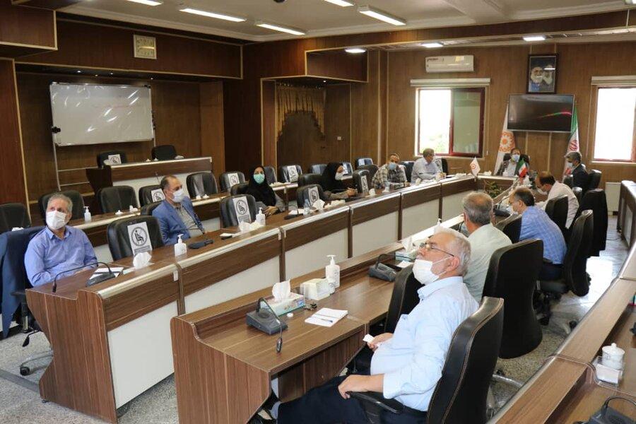 برگزاری جلسه شورای معاونین بهزیستی آذربایجان غربی با شرکت کار آفرین خیر