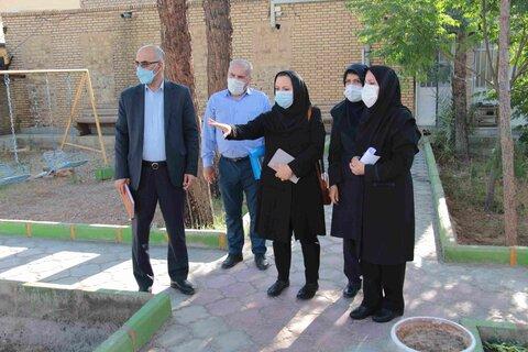 گزارش تصویری| بازدید مدیرکل استان سمنان از مراکز اجتماعی