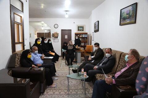 بازدید مدیرکل بهزیستی مازندران از خانه امن شهرستان ساری