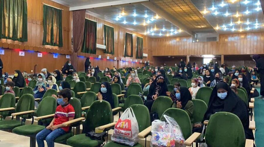 میبد | جشن کرامت ویژه کودکان و نوجوانان بهزیستی میبد برگزار شد