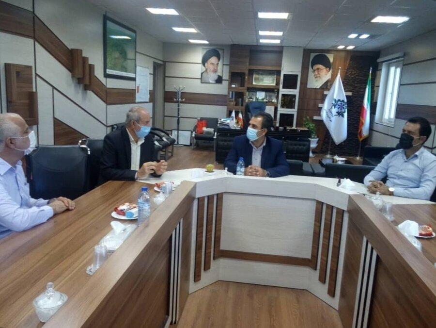دشتستان رئیس بهزیستی شهرستان دشتستان با شهردار برازجان دیدار وگفتگوکرد