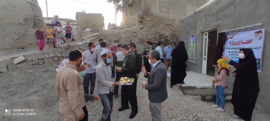 افتتاح ۴ واحد مسکونی مددجویان در مانه و سملقان