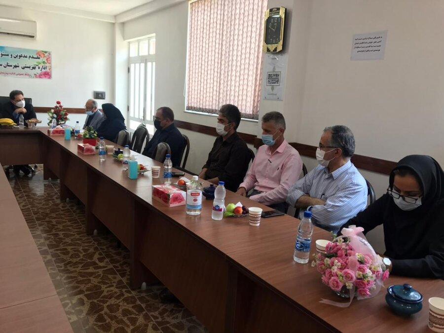 نشست صمیمی مدیرکل بهزیستی گیلان با همکاران بهزیستی شهرستان سیاهکل