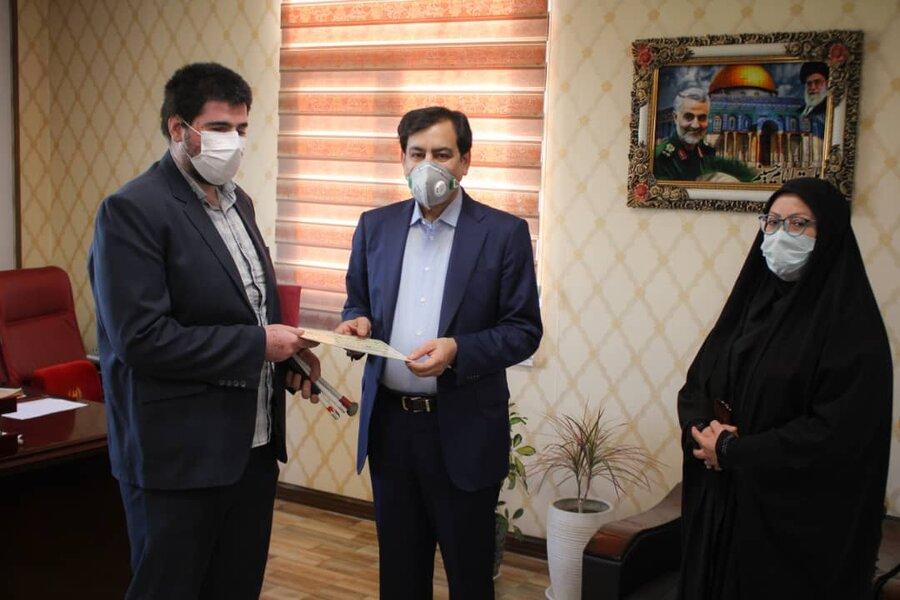 نابینای البرزی برگزیده جشنواره نماز و مهدویت شد
