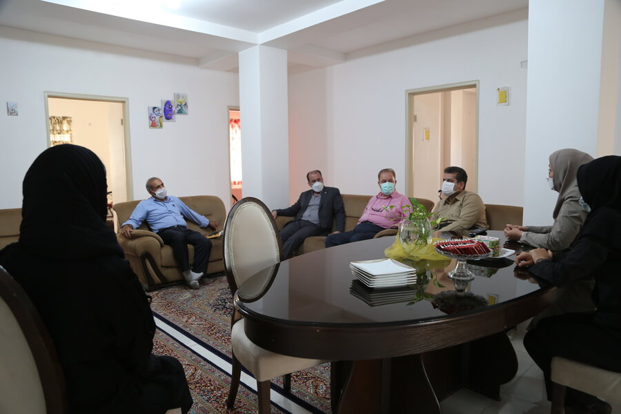 مدیرکل بهزیستی مازندران از مرکز خانه سلامت شهرستان ساری بازدید کرد