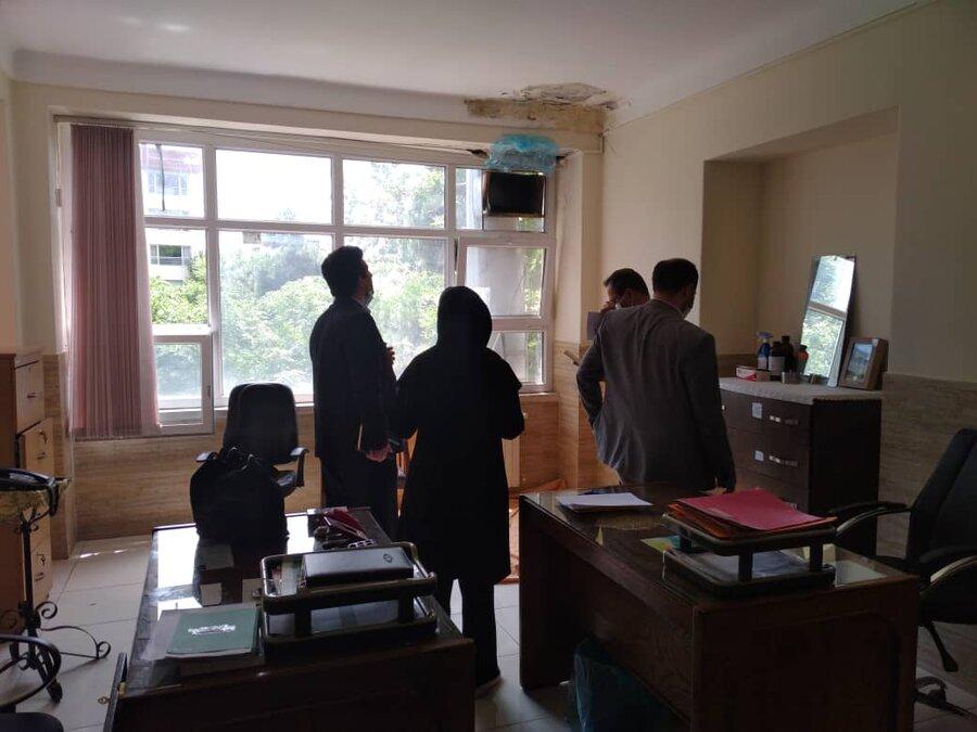 بازديد سرپرست دفتر امور آسيب ديدگان اجتماعي سازمان بهزيستي كشور از مراكز شهرستان