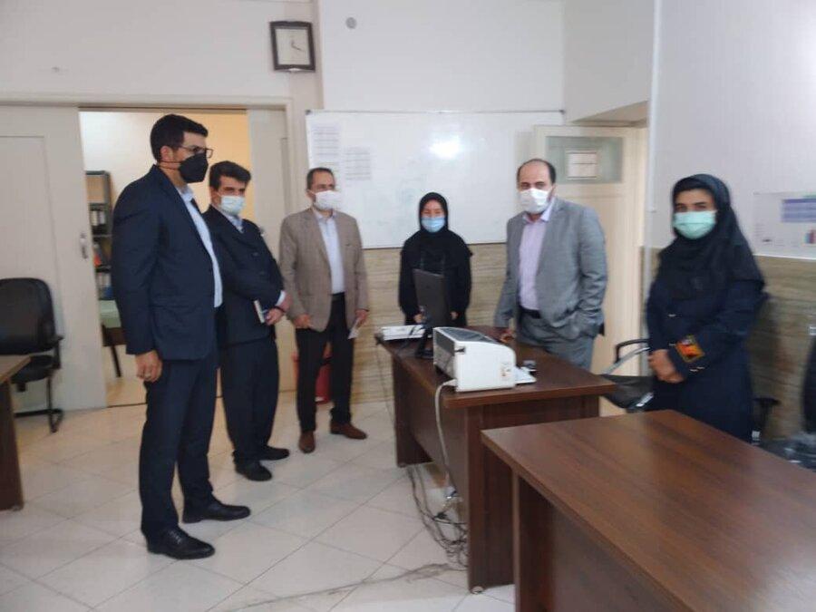 بازدید سرپرست دفتر امور آسیب دیدگان اجتماعی سازمان بهزیستی کشور از مراکز شهرستان