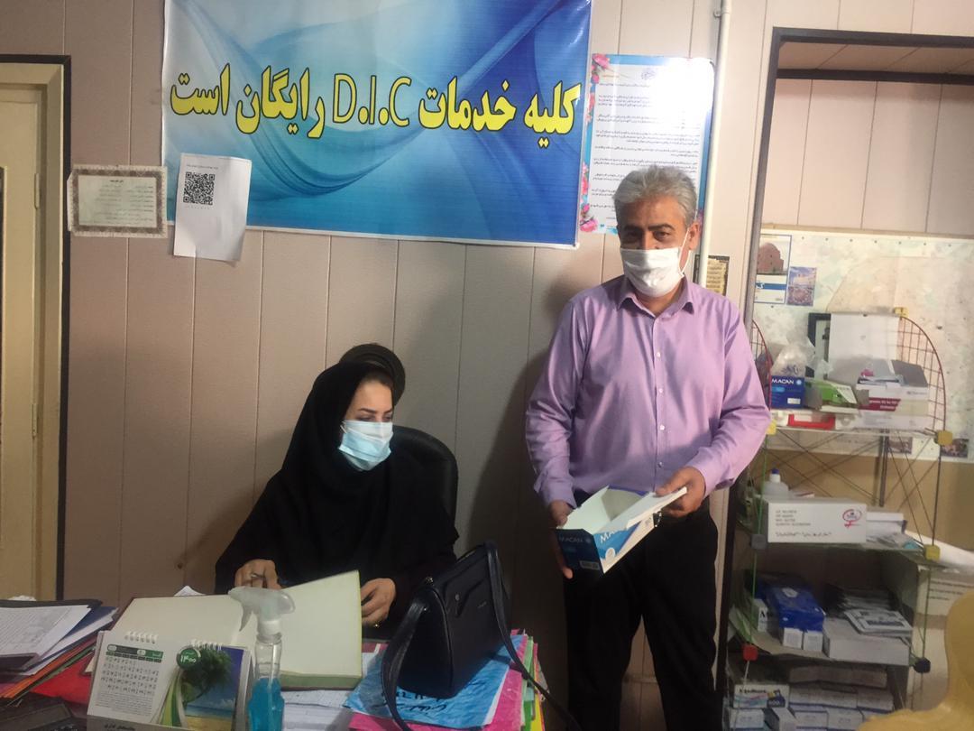 بازدید معاون اجرایی شهرستان کرمان از مراکز D.I.C