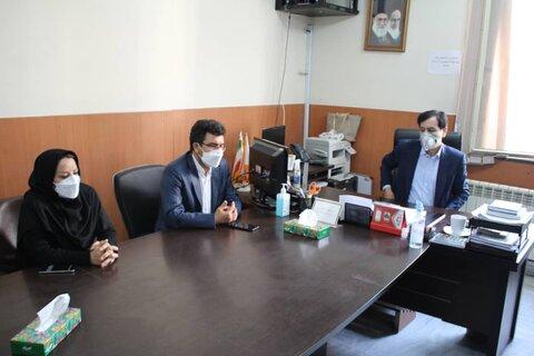 گزارش تصویری | دیدار مدیرکل بهزیستی البرز با کارکنان اورژانس اجتماعی
