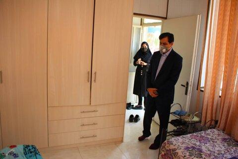 گزارش تصویری | مدیرکل البرز از خانه های امن بازدید کرد