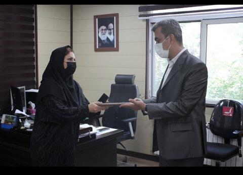 مشاور امور ایثارگران بهزیستی البرز منصوب شد