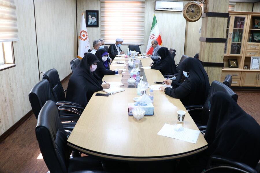 برگزاری جلسه کانون قرآن و عترت بهزیستی گیلان