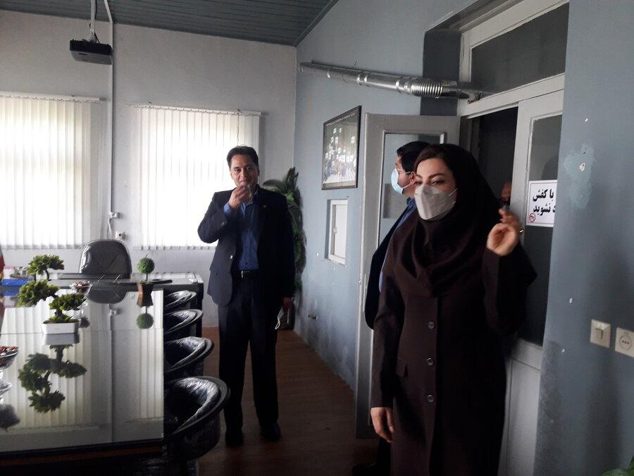 بازدید مدیرکل بهزیستی گیلان از مراکز مثبت زندگی در شهرستان سیاهکل