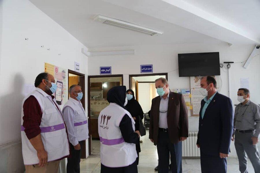 مدیرکل بهزیستی مازندران از اورژانس اجتماعی شهرستان آمل بازدید کرد