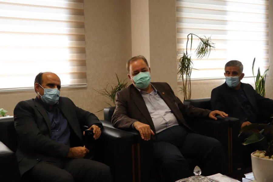 مدیرکل بهزیستی مازندران با معاون استاندار و فرماندار ویژه شهرستان آمل دیدار کرد