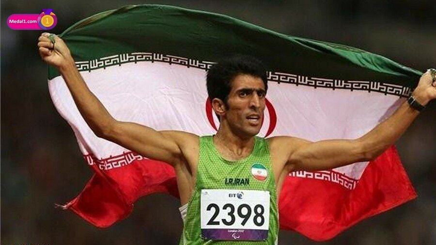 پیمان نصیری، قهرمان دو و میدانی مسابقات پارالمپیک
