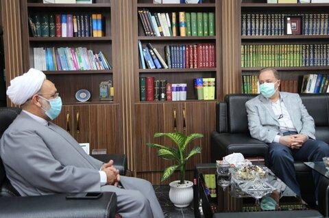 دیدار مدیر کل بهزیستی استان مازندران با رئیس کل دادگستری استان