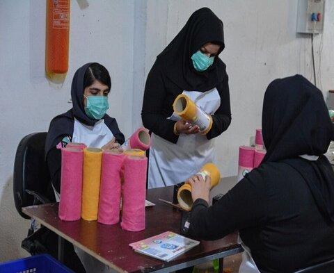 ۲۵ گروه همیار زنان سرپرست خانوار در کردستان فعالیت دارند