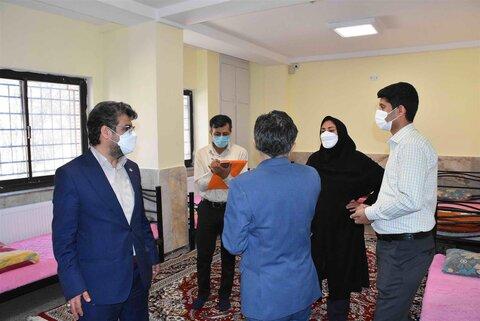 بازدید مدیر کل بهزیستی خراسان رضوی از ۱۰ مرکز حاکمیتی تحت نظارت این نهاد