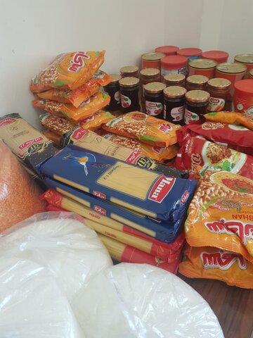 تنگستان|بسته های حمایتی پوشاک وغذا به زنان و دختران بدسرپرست وسرپرست خانوار اهدا کرد