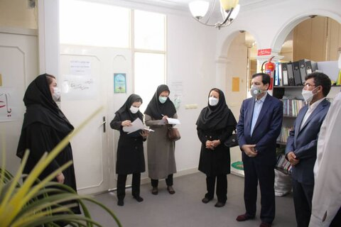 گزارش تصویری   مدیرکل بهزیستی البرز از مرکز حمایتی آموزشی کودک و خانواده (زندگی خوب) بازدید کرد