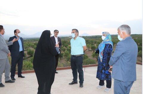گزارش تصویری| بررسی راهکارهای احیاء و توسعه مزرعه خیریه امام علی(ع)